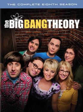 Big Bang Theory - The Complete Eighth Season poster