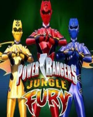 Power Rangers Jungle Fury (Combo pack) DVD poster