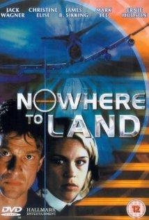 NO WHERE TO LAND poster