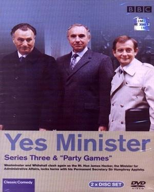 YES MINISTER SERIES 3 poster