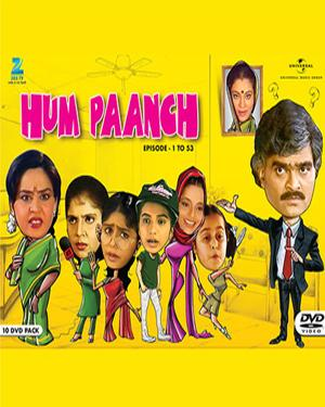Hum Paanch (10 DVD Pack) poster