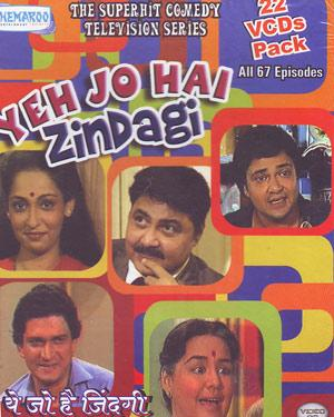 YEH JO HAI ZINDAGI COMPLETE SET - Tele Series